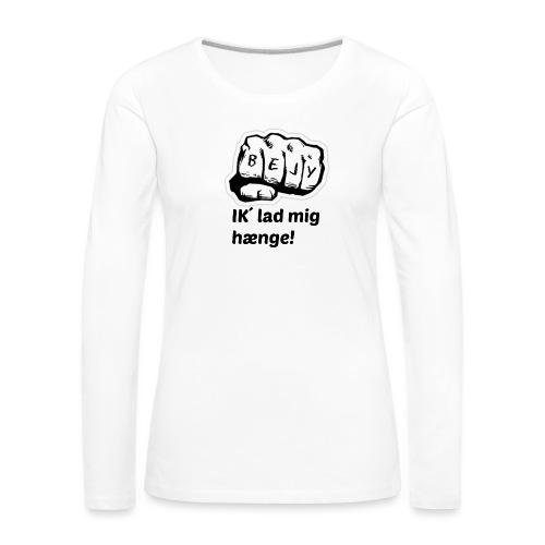 BEJY SHOP - Dame premium T-shirt med lange ærmer