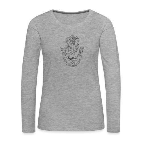 Celain&Galven-Mercure - Naisten premium pitkähihainen t-paita