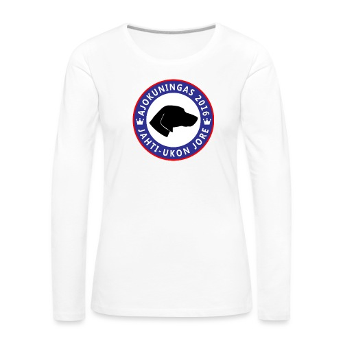 Ajokuningas t-paita - Naisten premium pitkähihainen t-paita