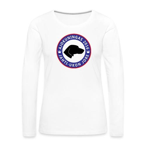 Jorelogo iso png - Naisten premium pitkähihainen t-paita