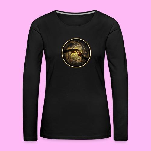 Reach out and touch faith - Naisten premium pitkähihainen t-paita