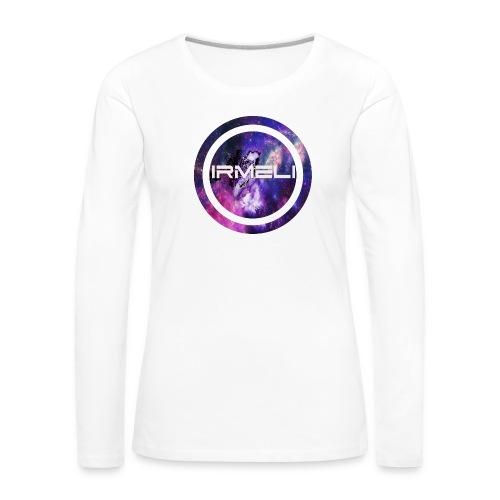 GALAXY LOGO - Naisten premium pitkähihainen t-paita