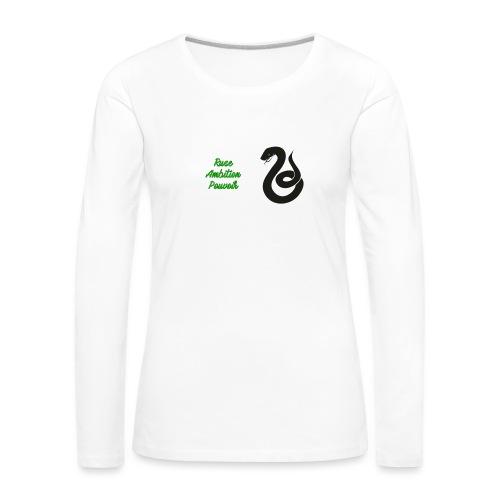 Serpentard - T-shirt manches longues Premium Femme