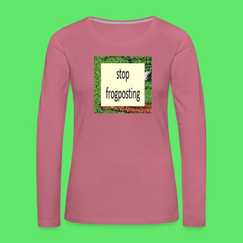 Frogposter - Women's Premium Longsleeve Shirt