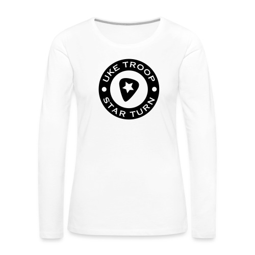 uke troop small - Women's Premium Longsleeve Shirt
