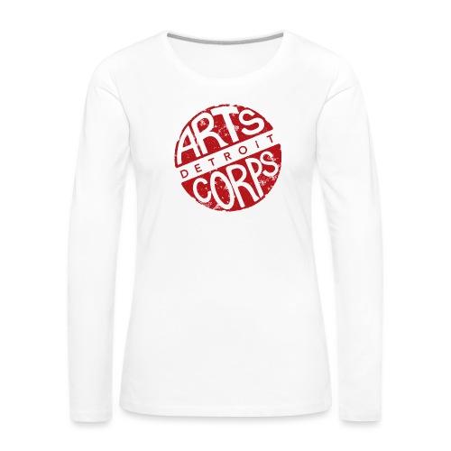 Art Corps Detroit - T-shirt manches longues Premium Femme