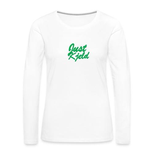 JustKjeld - Vrouwen Premium shirt met lange mouwen