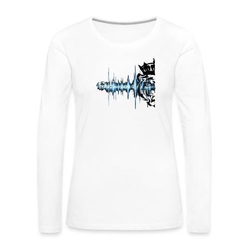 GT soundwave - Premium langermet T-skjorte for kvinner