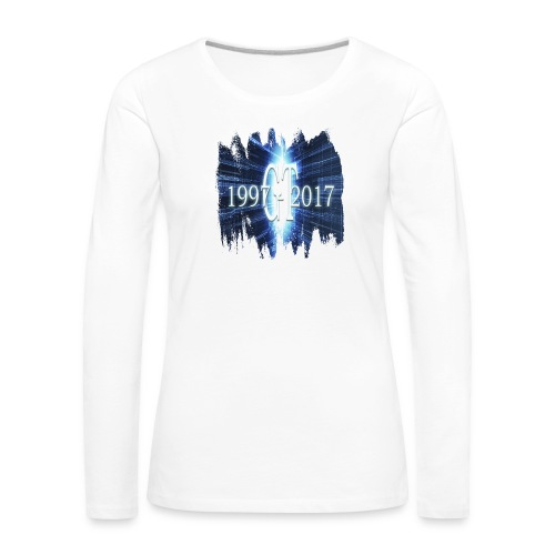 GuttaTur 20 years - Premium langermet T-skjorte for kvinner
