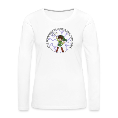 Dangerous To Game Alone - Women's Premium Longsleeve Shirt