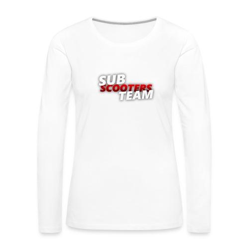 SST3 - Vrouwen Premium shirt met lange mouwen
