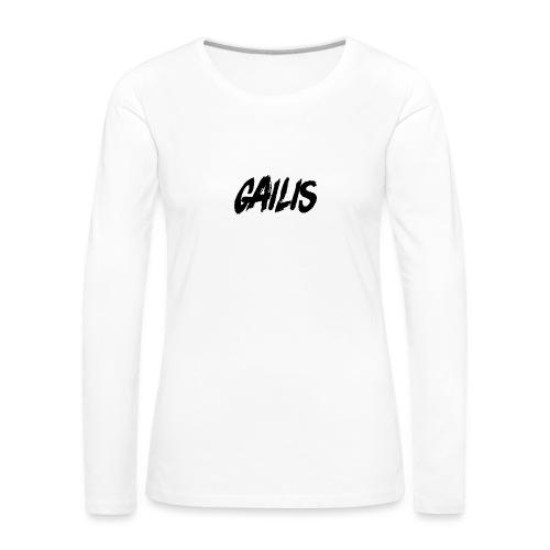 Gailis - T-shirt manches longues Premium Femme