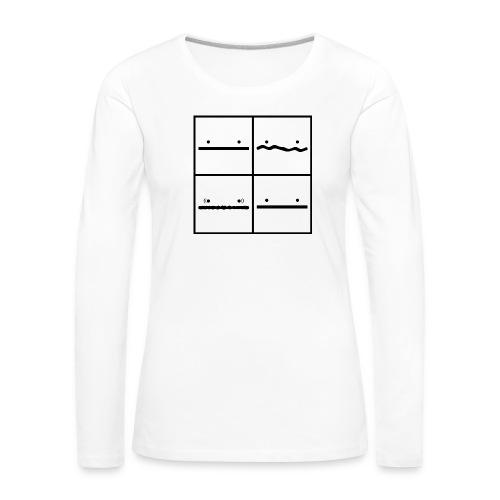 Pokerface - Frauen Premium Langarmshirt
