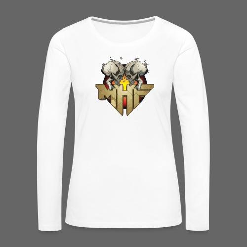 new mhf logo - Women's Premium Longsleeve Shirt