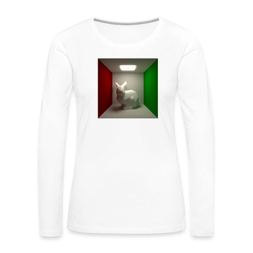 Bunny in a Box - Women's Premium Longsleeve Shirt
