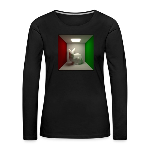 Bunny in a Box - Women's Premium Longsleeve Shirt