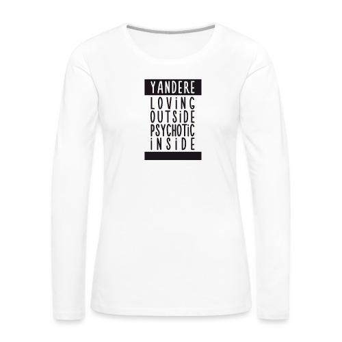 Yandere manga - Women's Premium Longsleeve Shirt