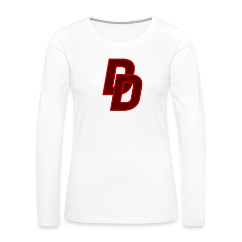 Daredevil Logo - Women's Premium Longsleeve Shirt