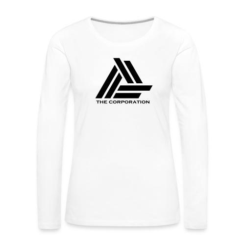 zwart metnaam keertwee png - Women's Premium Longsleeve Shirt