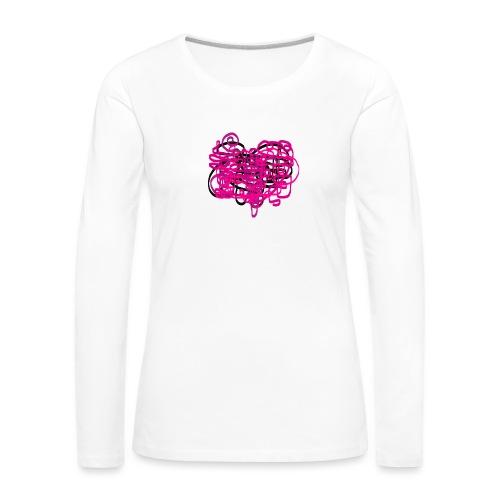 delicious pink - Women's Premium Longsleeve Shirt