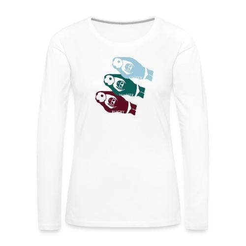 3 UWR-Spieler - Frauen Premium Langarmshirt