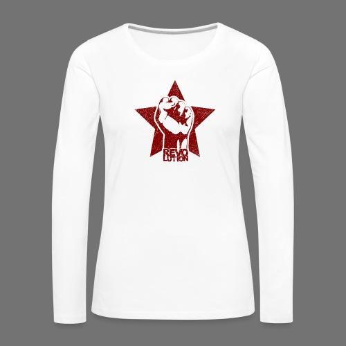 Revolution (oldstyle) - Naisten premium pitkähihainen t-paita