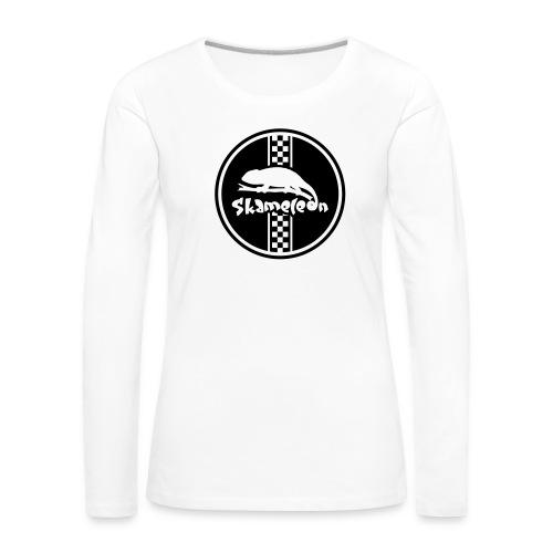 skameleon Logo - Frauen Premium Langarmshirt