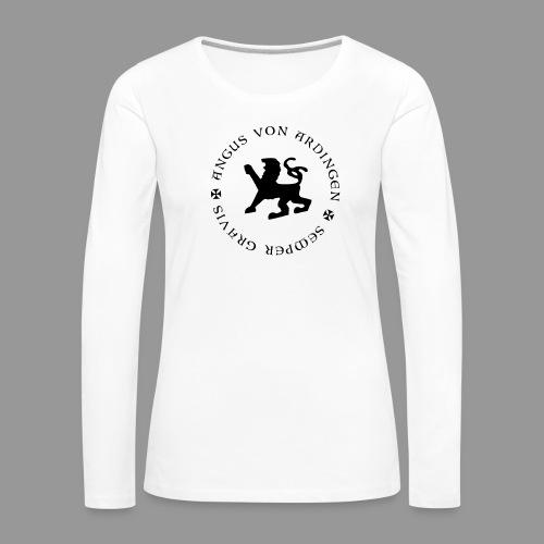 angus von ardingen semper gravis - Frauen Premium Langarmshirt