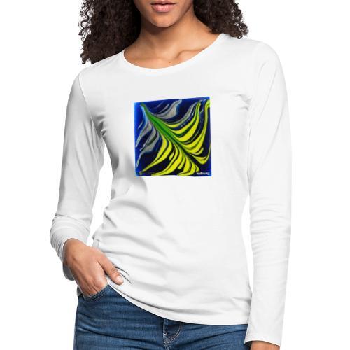 TIAN GREEN Mosaik DK037 - Hoffnung - Frauen Premium Langarmshirt