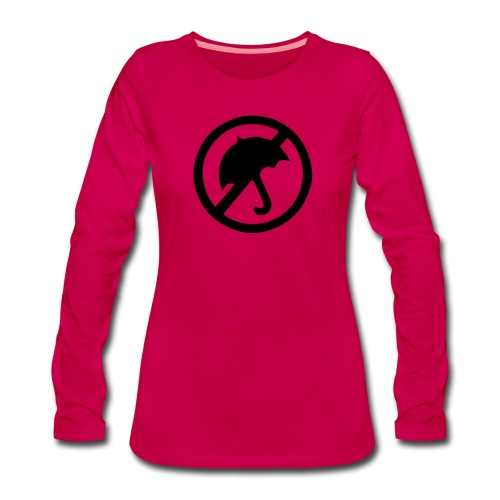 rainmakerlogo - Naisten premium pitkähihainen t-paita