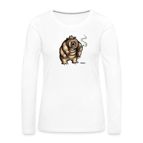 Smokey the Water Bear - Women's Premium Longsleeve Shirt