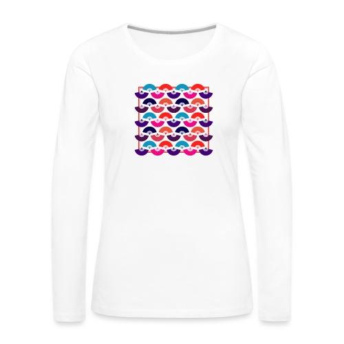 CR - Neon Fan - Camiseta de manga larga premium mujer