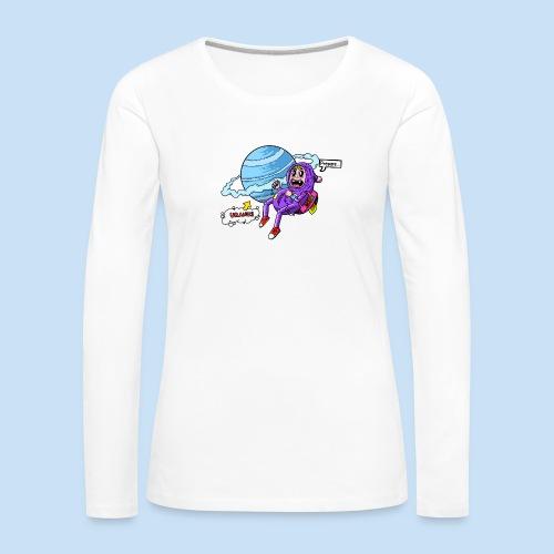 Prepare Uranus - Frauen Premium Langarmshirt