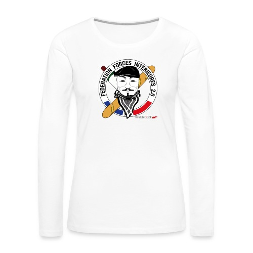 FFi Anonymous - T-shirt manches longues Premium Femme