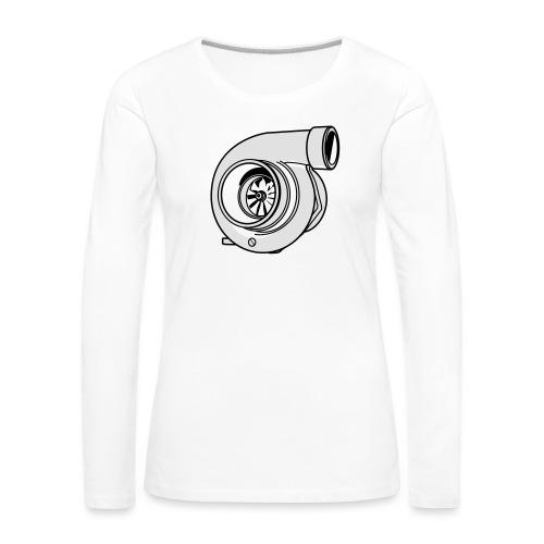 Turbo G - T-shirt manches longues Premium Femme