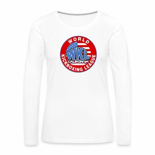 WKL CALIFORNIA - Camiseta de manga larga premium mujer