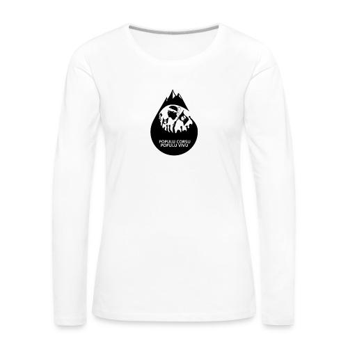 ISULA MORTA - T-shirt manches longues Premium Femme