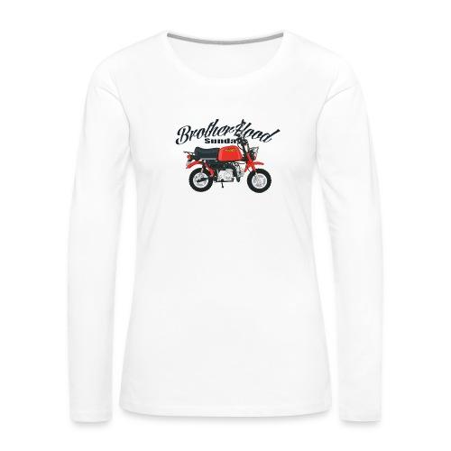 gorilla - T-shirt manches longues Premium Femme