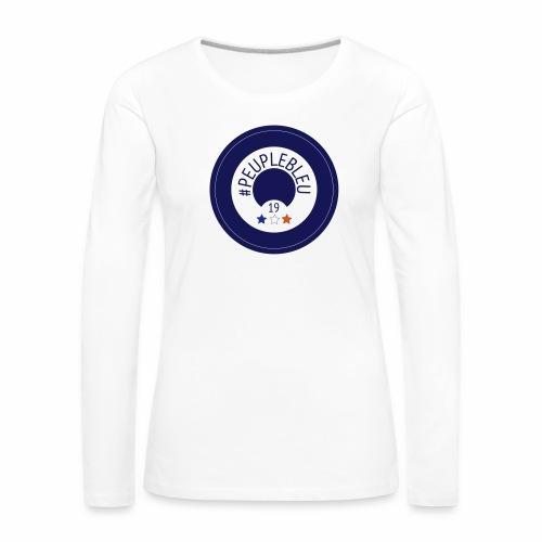 #PEUPLEBLEU BORN COLLECTION LIMITED EDITION 2019 - T-shirt manches longues Premium Femme