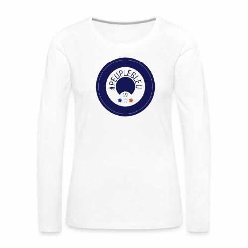 """#PEUPLEBLEU """"BORN COLLECTION"""" LIMITED EDITION 2019 - T-shirt manches longues Premium Femme"""