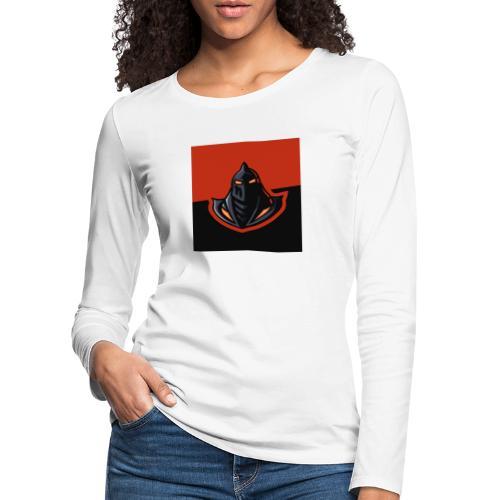 DeF Clan logo - Premium langermet T-skjorte for kvinner