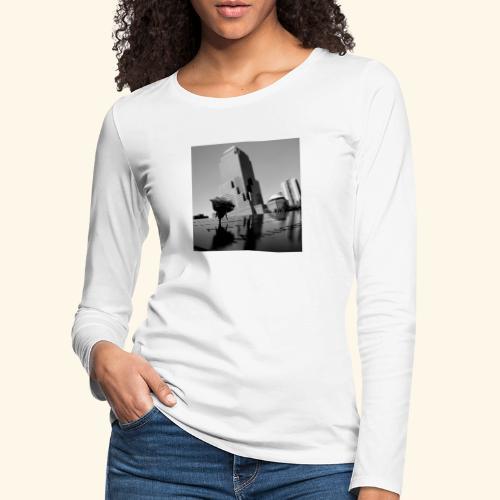Rosa del ricordo - Maglietta Premium a manica lunga da donna