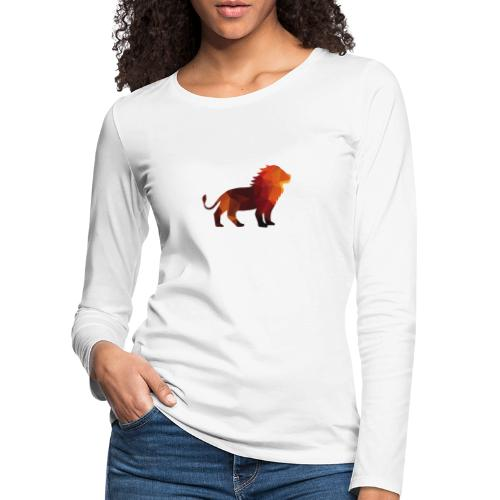 The Lion of Wall Street - Women's Premium Longsleeve Shirt
