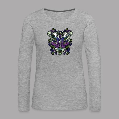 moth - Women's Premium Longsleeve Shirt