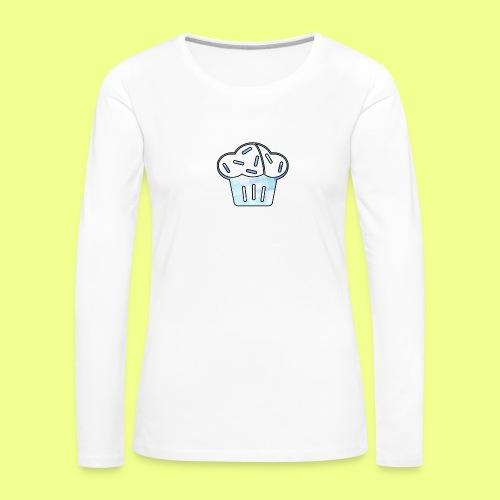 Pastel - Camiseta de manga larga premium mujer
