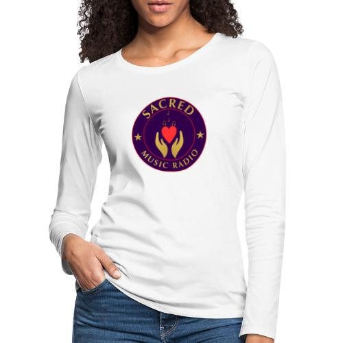 Spread Peace Through Music - Women's Premium Longsleeve Shirt
