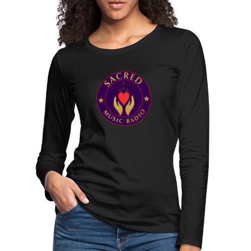 Spread Peace Through Music - Women's Premium Longsleeve Shirt