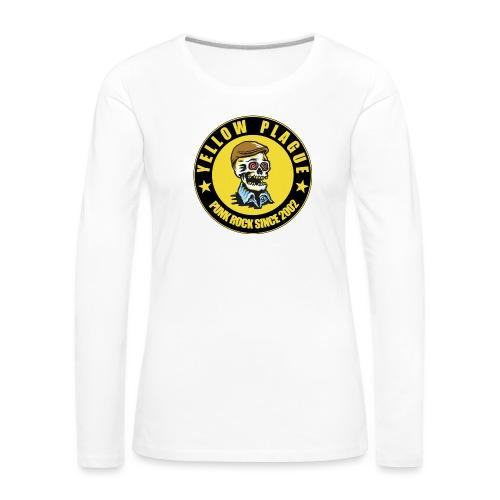 New logo - Naisten premium pitkähihainen t-paita