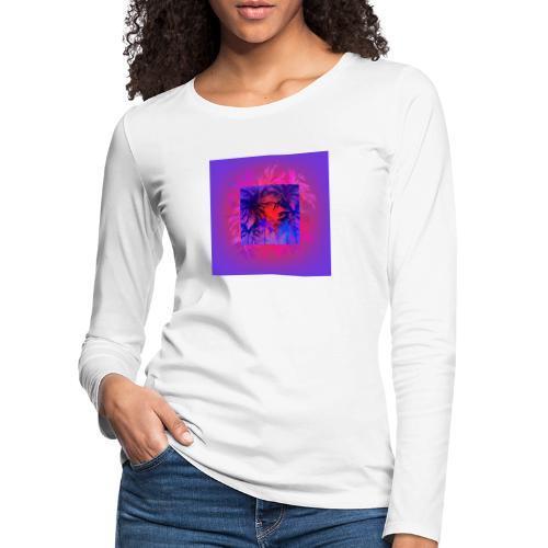 Tropical Summer Nights - Women's Premium Longsleeve Shirt
