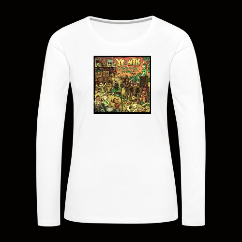 String Up My Sound Artwork - Women's Premium Longsleeve Shirt